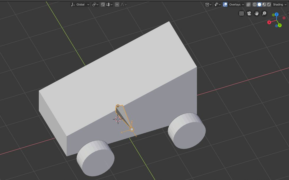 How to rig vehicle in blender 2 8 for Unreal Engine 4 - Continue Break