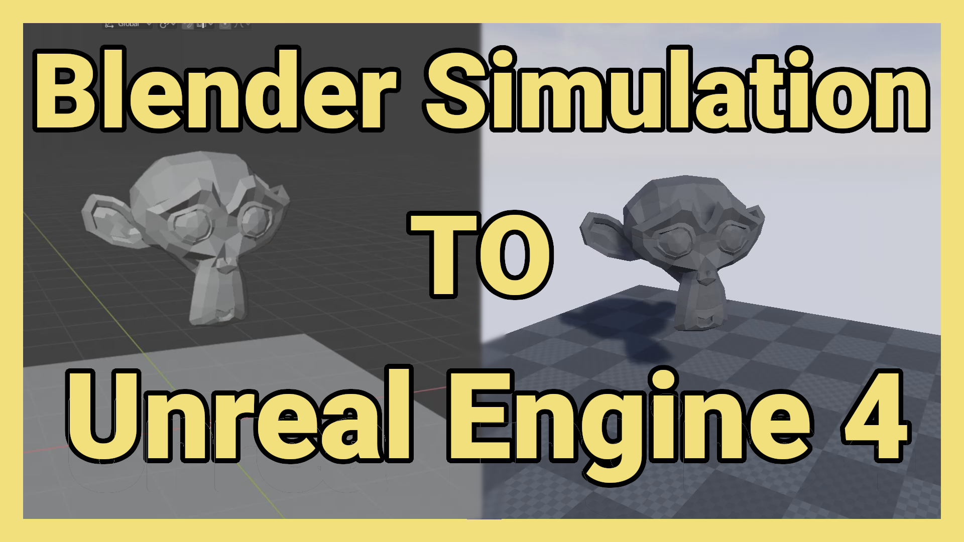How to get simple physics simulation animation from Blender
